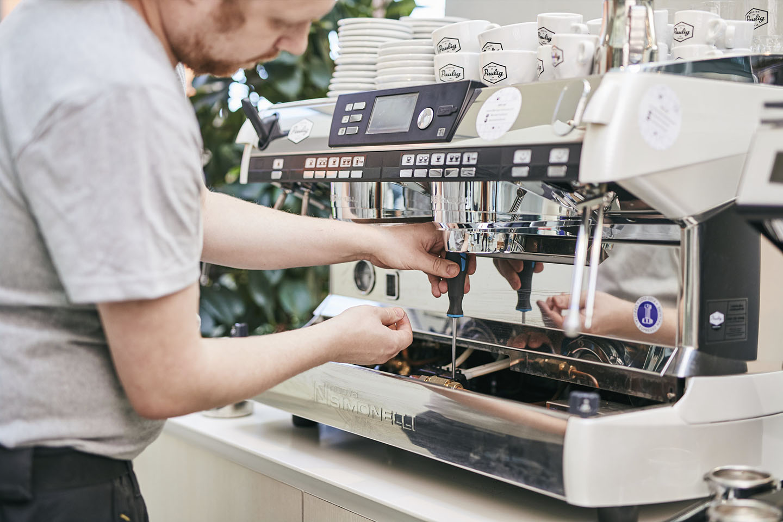 Maintenance of coffee machine