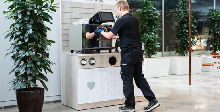 Coffee machine maintenace Thermoplan