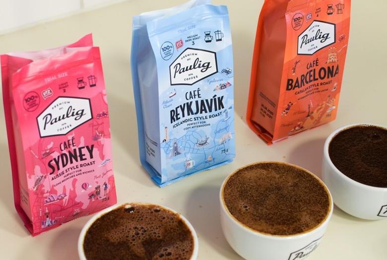 Järjestä kahvimaistelu kotona kaupunkikahvien maistelupakkauksella