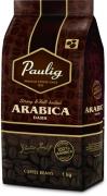 Paulig Arabica Dark 1kg kavos pupelės